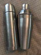 Stainless steel  shaker & thermos in Warner Robins, Georgia