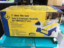 "Q ep 7"" Wet tile saw in Fort Riley, Kansas"