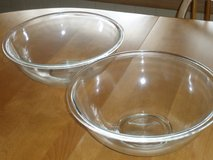 """2 pyrex mixing bowls 11.5""""W in Naperville, Illinois"""