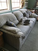 Sofa and pillows in Fort Campbell, Kentucky