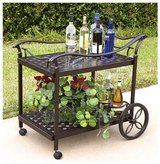 Patio serving cart in Houston, Texas