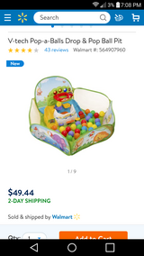 Vtech ball pit in Camp Pendleton, California