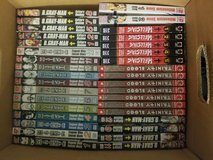 Box of manga in Fort Campbell, Kentucky