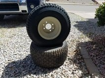 New Riding Lawn Mower Tires in Alamogordo, New Mexico