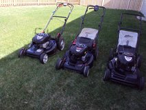 3 22in Craftman SP Lawnmowers in St. Charles, Illinois