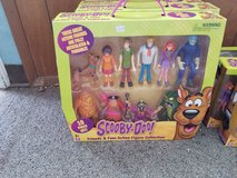 New scooby doo 10 piece action figure collection in the Box in Alamogordo, New Mexico