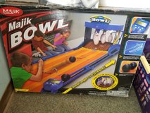 Majik Bowl  7' long pins set up automatically new in Box in Alamogordo, New Mexico