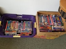 Vintage Disney and more VHS movies in clam shell cases choice in Alamogordo, New Mexico