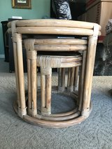 Nesting Bamboo Tables in Fort Campbell, Kentucky