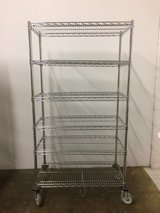 COMMERCIAL-GRADE 6-TIER SHELVING STORAGE RACK- EXCELLENT GENTLY USED CONDITION! in Lockport, Illinois
