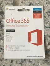 Office 365 One Year Subscription in Glendale Heights, Illinois
