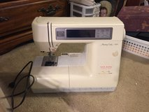 Memory Craft 8000 embroidery machine in Spring, Texas
