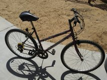 Black and Purple Bike in Yucca Valley, California