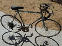 Vintage Blue Bike in Yucca Valley, California