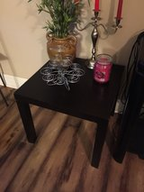 side table in Fort Riley, Kansas