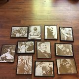 Gone With the Wind sepia prints framed in Spring, Texas