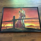 Gone With the Wind large framed poster. in Spring, Texas