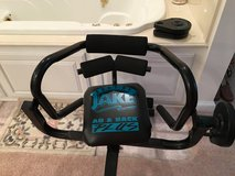Body by Jake Abs and Back Plus weights in Lake Charles, Louisiana