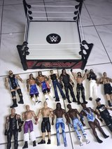 WWE Wrestlers & Ring in Baumholder, GE
