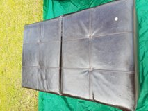 Leather Ottoman in Beaufort, South Carolina