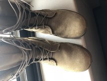 Combat boots (hot weather) in Fort Leonard Wood, Missouri