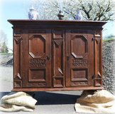 antique wedding cabinet from 1706 in Ramstein, Germany