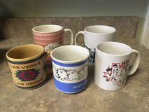 Coffee Mugs! Nice Condition! Big and Small! Cats, Chicago Skyline Mug, Merry Christmas.. in Naperville, Illinois