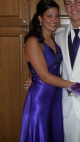 Purple prom Dress in Fort Drum, New York