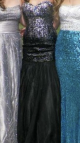 Sparkly prom dress in Fort Drum, New York