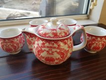 Authentic tea set from China in Camp Pendleton, California