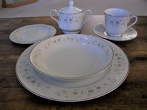 28 Pc Carlton Andover China Set - Incomplete - Very Good Condition in Chicago, Illinois