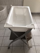 Baby changer with bathtub in Ramstein, Germany
