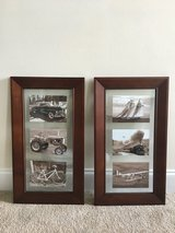 Set of 2 Frames (holds three 5x7 size photos) in Beaufort, South Carolina