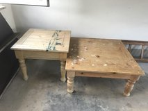OLD BEAT UP TABLES GREAT FOR REFURBISH PROJECT in Stuttgart, GE