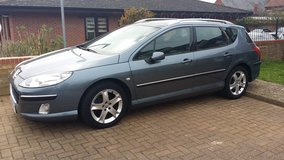 Peugeot 407 2.0 hdi mot till August in Lakenheath, UK
