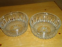 "8""pressed glass serving bowls in St. Charles, Illinois"