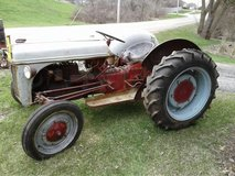AntiqueTractor Ford 9n Barn find in Chicago, Illinois