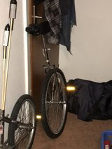 """unicycle with a 24"""" wheel in Stuttgart, GE"""