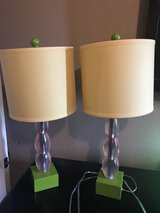 Set of lamps in Fort Leonard Wood, Missouri