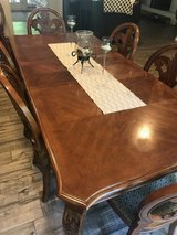 Dining Room Table w/ 8 Chairs in Kingwood, Texas