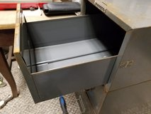 1) Vintage MCM Steelmaster Gray stackable File card cabinet drawer in Westmont, Illinois