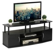 "Jaya 50"" Flat Panel TV Stand (Black) - DISPLAY MODEL! in Oswego, Illinois"