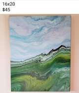 Abstract paintings by Jennifer Reess in Columbia, South Carolina