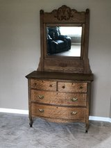 Ladies dresser with mirror in Oswego, Illinois
