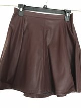 Faux leather skirt in Palatine, Illinois