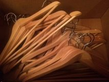 Set of 24 Wooden Hangers in Naperville, Illinois