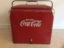 COKE COOLER 1950's in Fort Campbell, Kentucky
