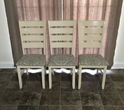Solid Oak Dining Chairs in Camp Lejeune, North Carolina
