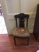 Antique chair in Houston, Texas