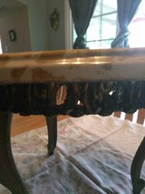 Small Antique Stone Table in Lackland AFB, Texas